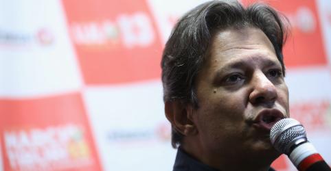 Placeholder - loading - Candidatura de Lula é questão de soberania popular, diz Haddad na terra natal do ex-presidente