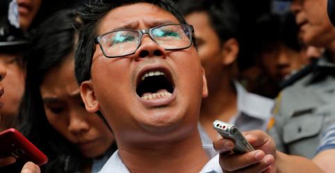 Repórteres da Reuters são condenados a 7 anos de prisão em Mianmar
