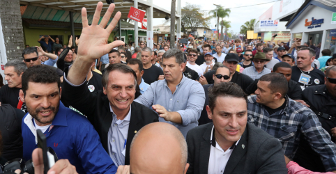 Placeholder - loading - Imagem da notícia Bolsonaro diz que resultado da eleição será contestado seja quem for o vencedor