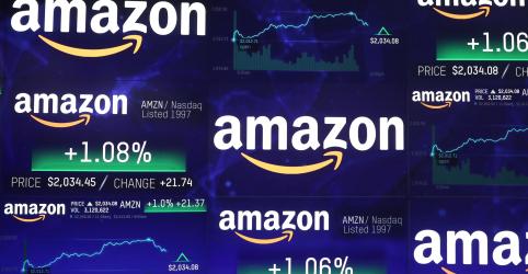 Amazon atinge US$1 tri em valor de mercado em ritmo para ultrapassar Apple