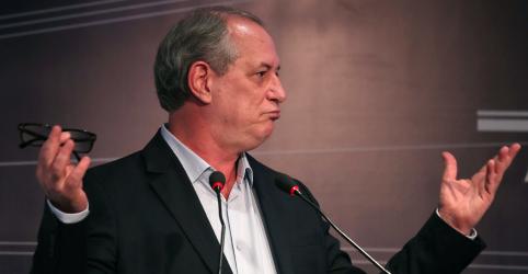 Placeholder - loading - Imagem da notícia Ciro diz que eleição de Bolsonaro seria 'suicídio coletivo'