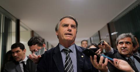 Placeholder - loading - Imagem da notícia Vergonha Alckmin perder pra mim em SP, ironiza Bolsonaro