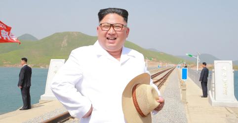 Placeholder - loading - Enviados sul-coreanos encontram Kim na Coreia do Norte para preparar nova cúpula
