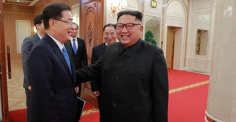 Placeholder - loading - Líder norte-coreano pretende alcançar desnuclearização até fim de mandato de Trump, diz Seul