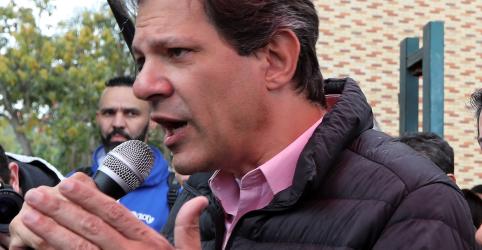 Placeholder - loading - Imagem da notícia Caso liminares sejam derrubadas, Haddad diz que se reunirá com Lula na 2ª e decisão será anunciada 3ª-feira