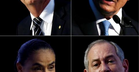 REPERCUSSÃO-Presidenciáveis repudiam ataque a Jair Bolsonaro (PSL)