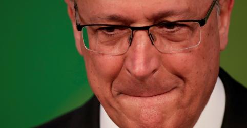 REEDIÇÃO-Alckmin acredita que Haddad deve crescer após entrar na disputa e vincula demais adversários ao PT