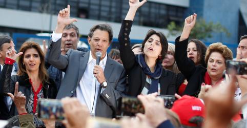 Placeholder - loading - Imagem da notícia Está na hora de sairmos para a rua e ganharmos esta eleição, diz Haddad