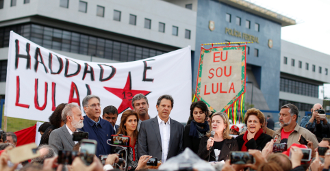 Lula diz em carta a Haddad que transfere a ele responsabilidade de transformar o país