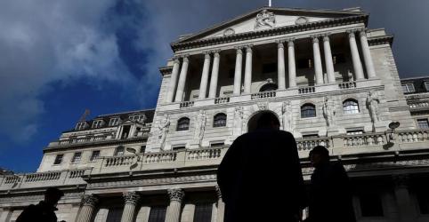 BC britânico mantém taxa de juros e vê maior incerteza com o Brexit