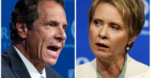 Placeholder - loading - Primária democrata de Nova York opõe governador Cuomo a atriz Cynthia Nixon