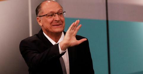 Alckmin vê sinais de alta em sua campanha e diz que ninguém está garantido no 2º turno