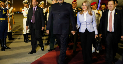 Presidente chinês receberá Maduro nesta sexta-feira