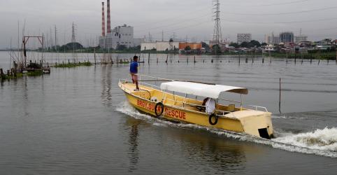 Ventos e chuvas atingem norte das Filipinas com aproximação de forte tufão