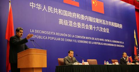 Placeholder - loading - Imagem da notícia China diz estar disposta a dar toda ajuda que puder à Venezuela