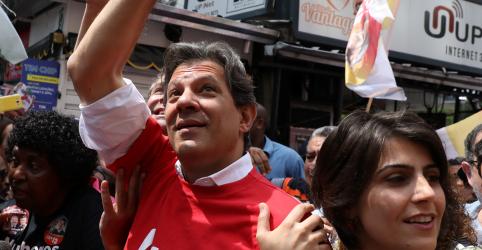 Lula pede ao TSE para gravar vídeos como apoiador da campanha de Haddad