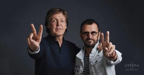 Placeholder - loading - Imagem da notícia Ringo Starr faz participação em show do Paul McCartney