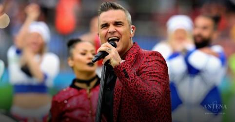 Placeholder - loading - Imagem da notícia Robbie Williams na abertura da Copa do Mundo