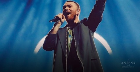 "Placeholder - loading - Ouça a nova de Sam Smith, ""Fire on Fire"""