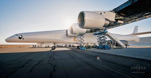 Saiba mais sobre o maior avião do mundo