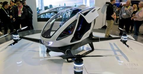 Placeholder - loading - Imagem da notícia Taxi-drone pode ser a aposta do futuro