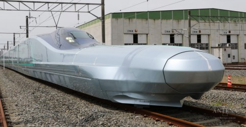 Placeholder - loading - Imagem da notícia Trem bala mais rápido do mundo; Conheça a tecnologia