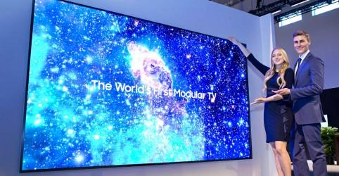 Conheça The Wall Luxury, a televisão de 292 polegadas da Samsung