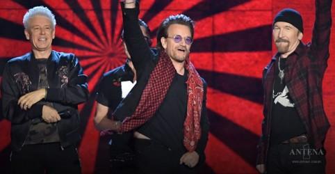U2 está entre os artistas que mais lucraram em junho