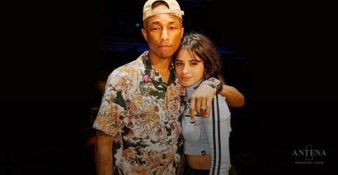 "Ouça Pharrell Williams e Camila Cabello em ""Sangria Wine"""