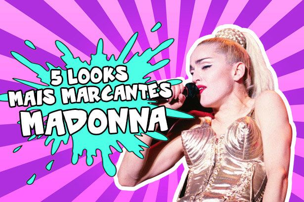 Confira looks mais ousados de Madonna Background