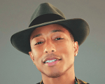 Estátua de cera de Pharrell Williams é exposta no Madame Tussauds Background