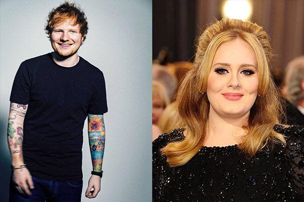 Álbuns de Adele e Ed Sheeran estão entre os mais vendidos de 2015 Background