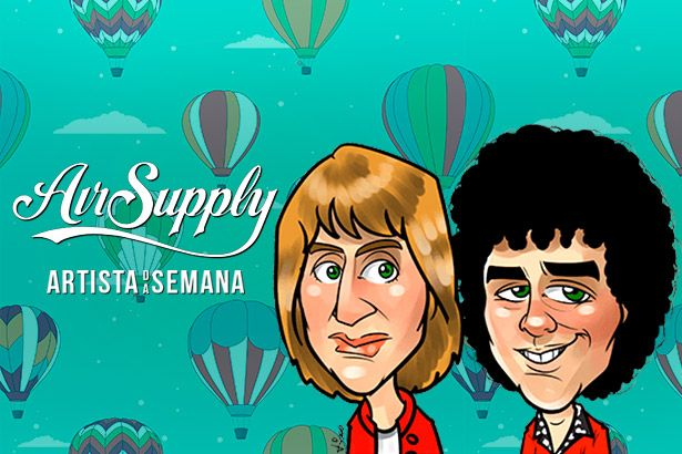 Air Supply é o Artista da Semana