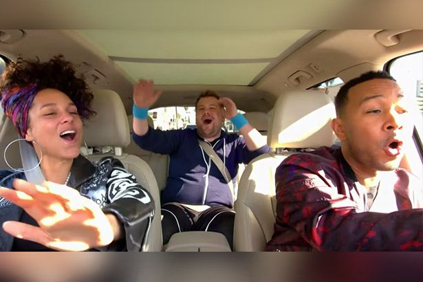 Alicia Keys e John Legend estarão em nova série do Carpool Karaoke Background