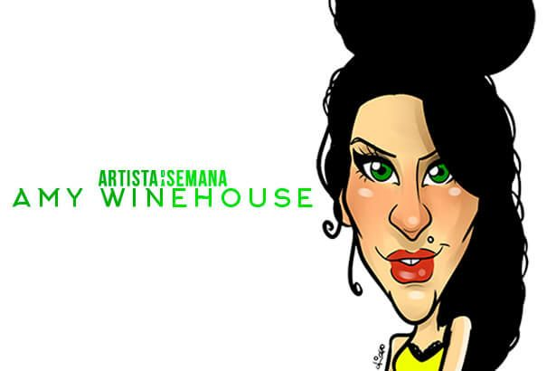 Amy Winehouse é o Artista da Semana Background
