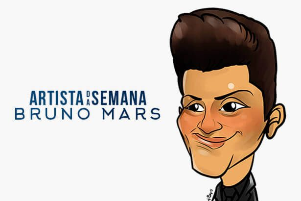 Bruno Mars é o Artista da Semana Background