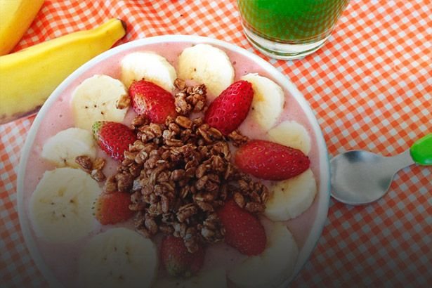 Pular o café da manhã atrapalha a boa nutrição das crianças Background