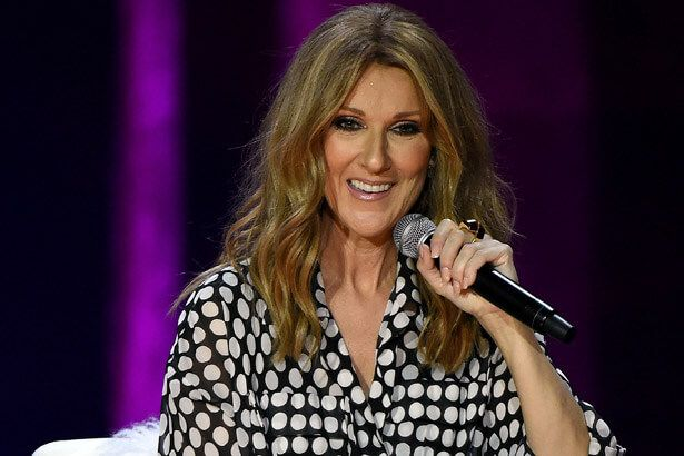 Celine Dion trabalha em novo disco Background