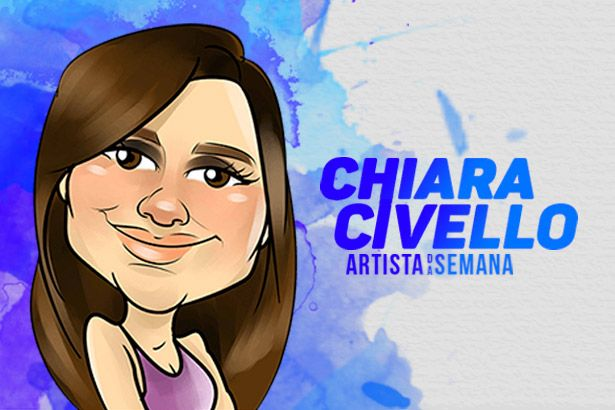 Chiara Civello é a Artista da Semana Background