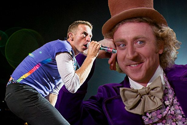 Coldplay toca Pure Imagination em homenagem a Gene Wilder Background