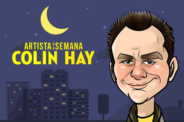 Colin Hay é o Artista da Semana Background