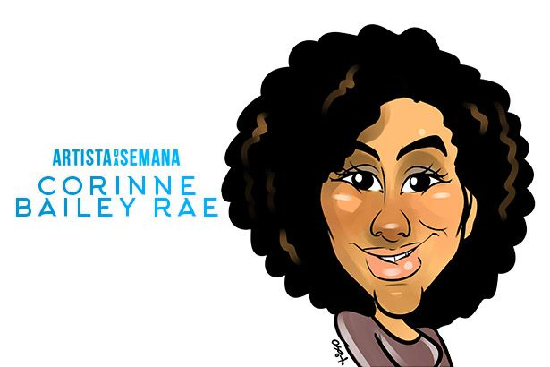 Corinne Bailey Rae é a Artista da Semana! Background