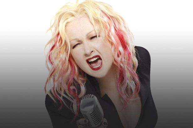 Cyndi Lauper é a Artista da Semana Background