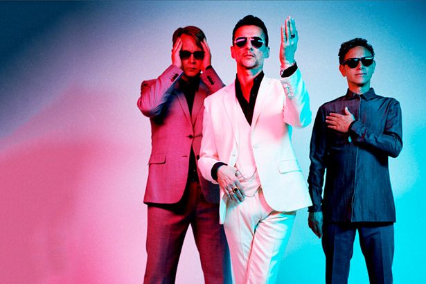Depeche Mode canta novo single ao vivo Background