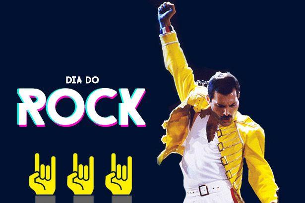 A Antena 1 celebra o Dia do Rock Background