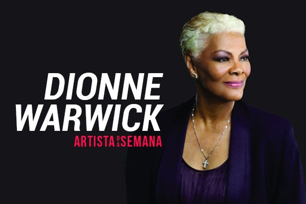 Dionne Warwick é a Artista da Semana Background