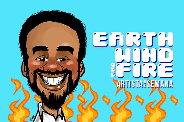 Earth, Wind & Fire é o Artista da Semana Background