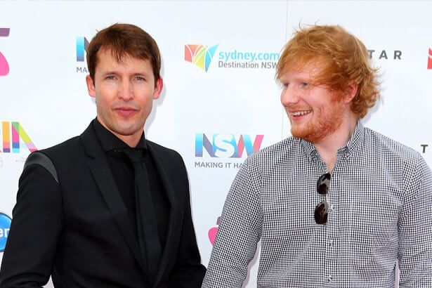 Placeholder - loading - James Blunt está compondo com Ed Sheeran para novo disco Background
