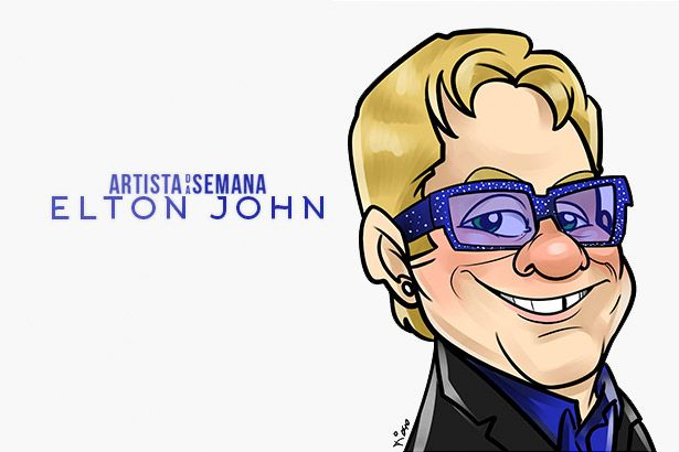 Elton John é o Artista da Semana! Background