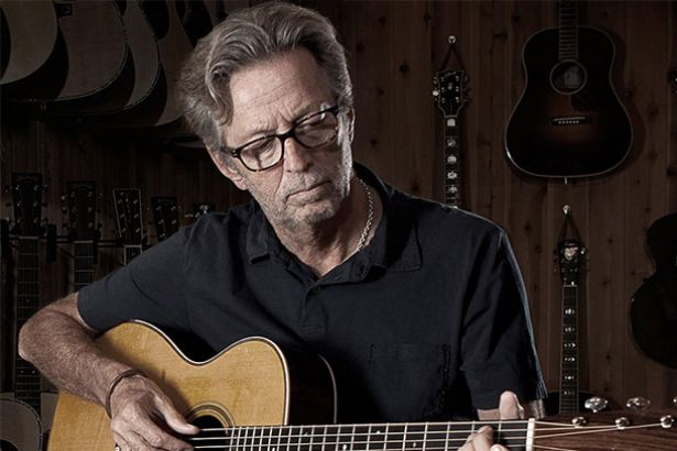 Eric Clapton revela que está doente Background